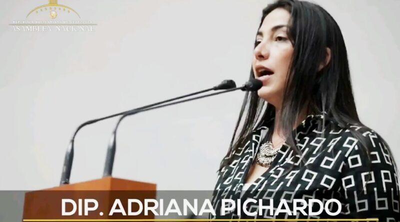 Adriana Pichardo expone sobre condiciones de Presos Políticos