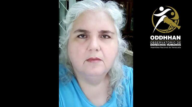 Denuncia de Ana María Da Costa