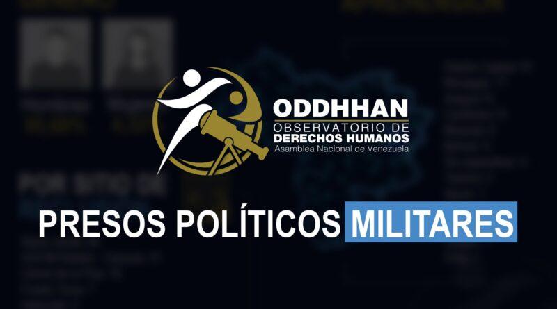 El Observatorio de Derechos Humanos revela cruda situación de Presos Políticos Militares