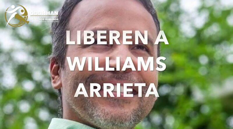 Pronunciamiento ante la detención del Dr. Williams Arrieta
